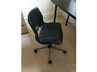 SILLE Swivel chair IKEA black