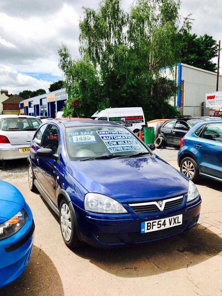 ✅ 2004 (54) - Vauxhall Corsa 1.4i 16V Design 3dr Auto ✅