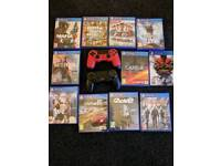 PlayStation 4 ( 1T) 11 Games 2 controllers