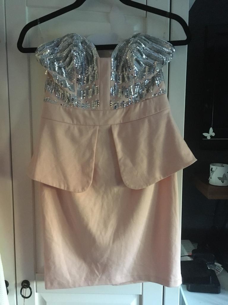 Lypsy pink dress