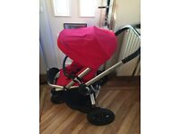 Quinny buzz extra red rumour pushchair