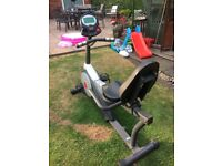 Gym quality V-Max MPE FitnessRecumbent Magnetic Resistance Exercise Bike.
