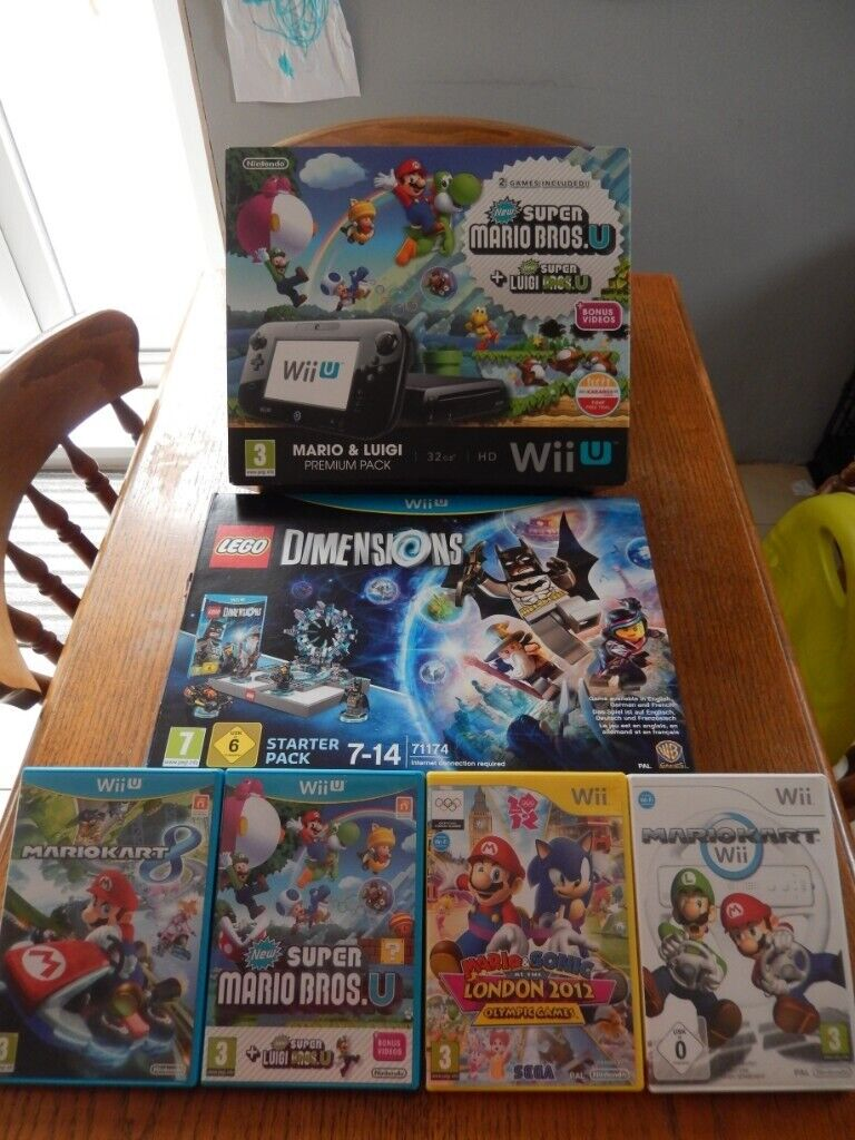 Wii U Console with Lego Dimensions | in Hartlepool, County Durham | Gumtree