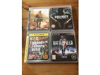 Four PlayStation 3 Games