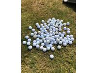 Golf balls approx 100 - great for practice