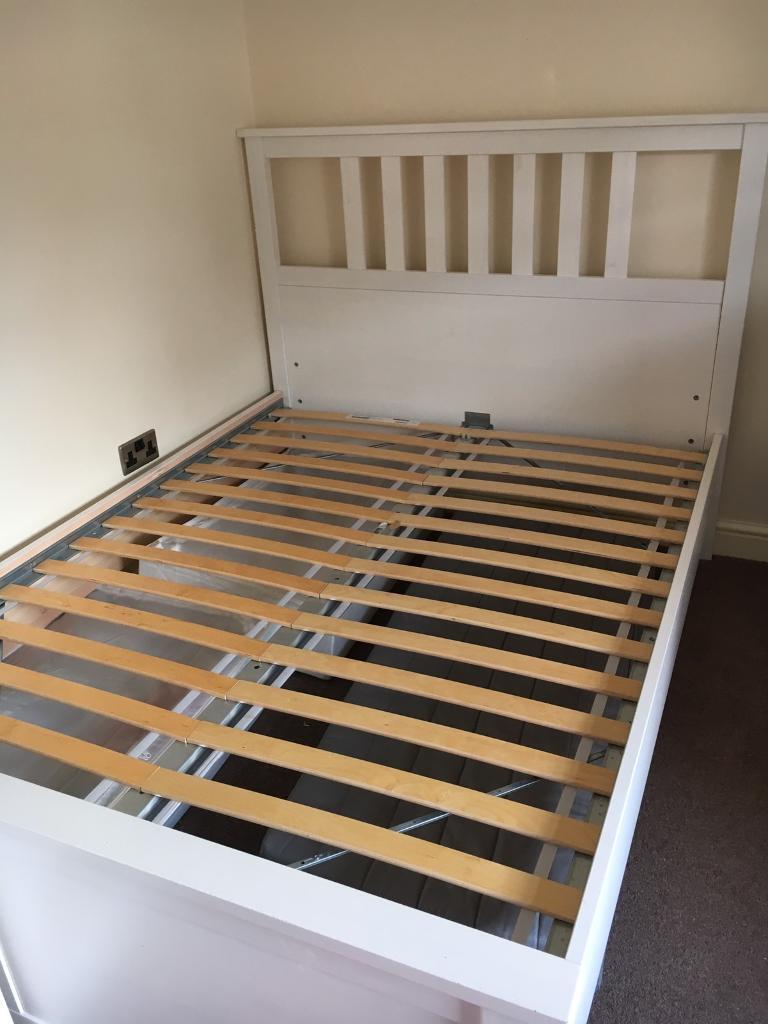 ikea hemnes bed frame double - Hemnes Bed Frame