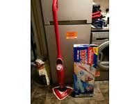 Brand new Vileda cordless steam mop