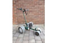 King caddy electric golf trolley including battery and charger all in good working order