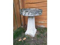 Garden bird table