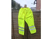 Hi-Vis Gore-Tex Waterproof Trouser - breathable
