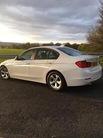 62 REG BMW 320D NEW SHAPE AUTOMATIC DIESEL AUTO (WHITE) 1 OWNER