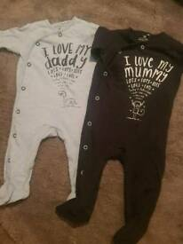 Next boys up to 3 month baby grows