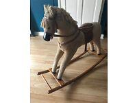 Old fashioned rocking horse £10
