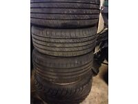 "VW GOLF BORA MK4 SEAT SKODA AUDI A3 ALLOYS WHEELS NEW TYRES 225/40ZR 18"" 5 X 100"