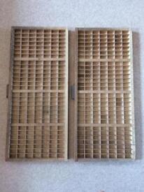 Empty printers trays