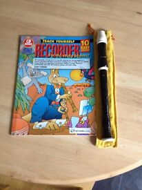 Recorder and Book
