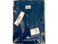 Lacoste Polo T-Shirt L1212 size 4 - Laser Blue
