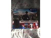 PS4 and two games brand new in box