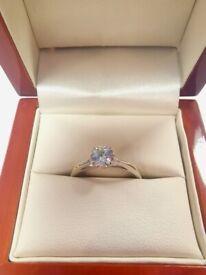 Solataire diamond ring 0.5ct 18ct gold