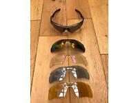 Oakley radar cycling sunglasses