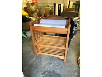 Mamas and Papas Wooden Changing Station