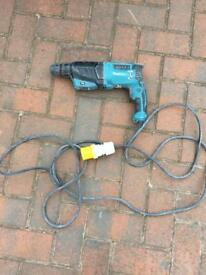 Makita 110v SDS drill plus lead