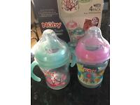 Nuby- Natural touch baby bottles