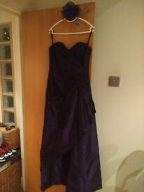 Debut/Debenhams Ball Dress & Bolero cropped jacket for £10