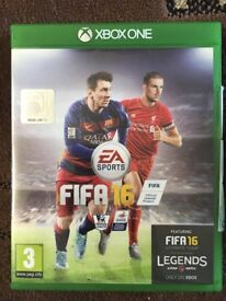 Xbox One Fifa 16 Disc Version