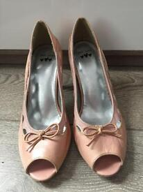 Ladies marks and Spencer's open toe shoes