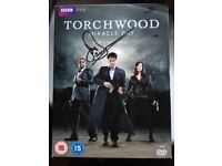 SIGNED Torchwood Miracle Day DVD Boxset (Signed by John Barrowman)
