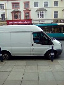 Transit ,swb. 60 reg, semi high roof,£3.500