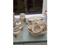 50 pieces of Royal Doulton Tableware