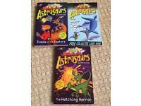 Steve Cole 3 Astrosaurs books