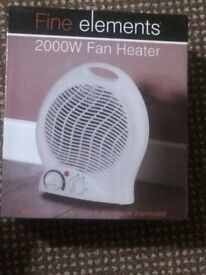 2000 w electronic heater