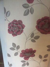 5 rolls of super fresco wallpaper