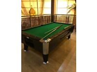 American pool table 7 foot coin op
