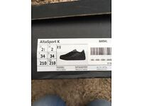Adidas school shoes size 2