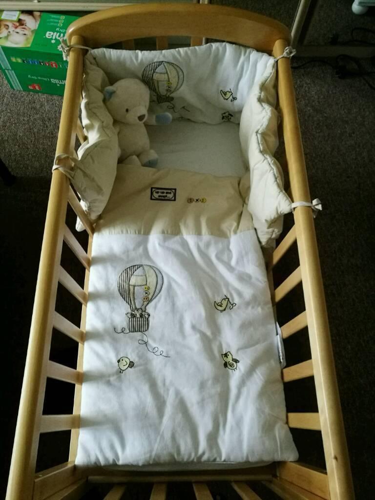 Baby cribs john lewis - Baby Swing Glide Crib By John Lewis