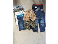Boys shorts & trousers age 6