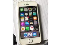 Apple iPhone 5s White 16gb good condition , unlocked , £110