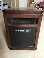 Dura flame 1000 sq/ft infrared heater