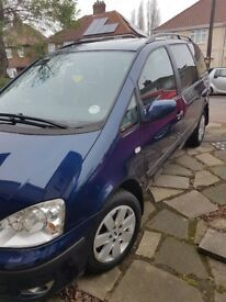 Ford Galaxy 05 very low mileage. 1 Lady owner