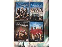 Pretty little liars dvd boxsets seasons 1,2,3&4