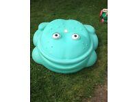 Step 2 Frog Sandpit