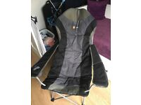Higear folding camping chair with carry bag