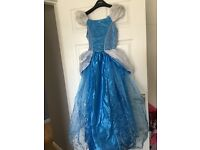 Cinderella dress up with bag & shoes & gloves