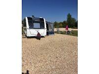 Caravan Porch awning (blue) Ventura Cadet, curtains & all porch accessories £200