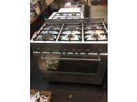 Range gas cooker