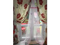 PRETTY BUTTERFLY OVER THE BED CANOPY